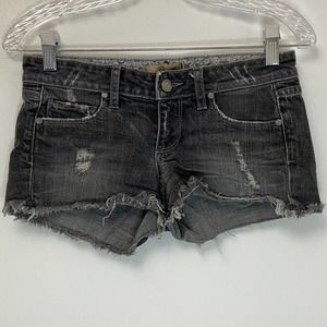 PAIGE Silverlake Distressed Short Jeans